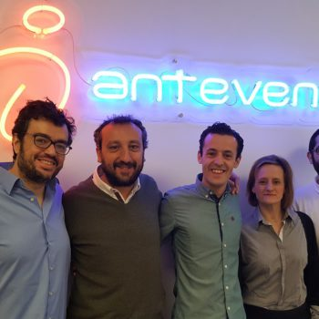 Equipe Antevenio en février 2017