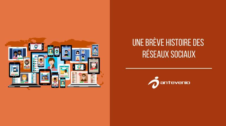 histoire des réseaux sociaux