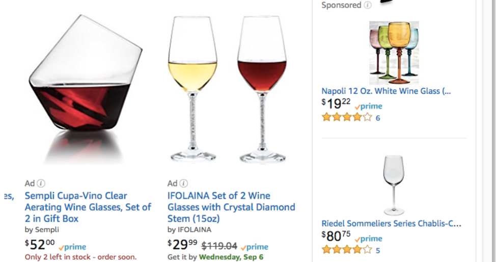 Amazon product display ads