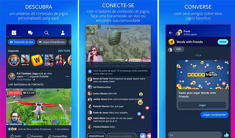 Comment fonctionne Facebook gaming