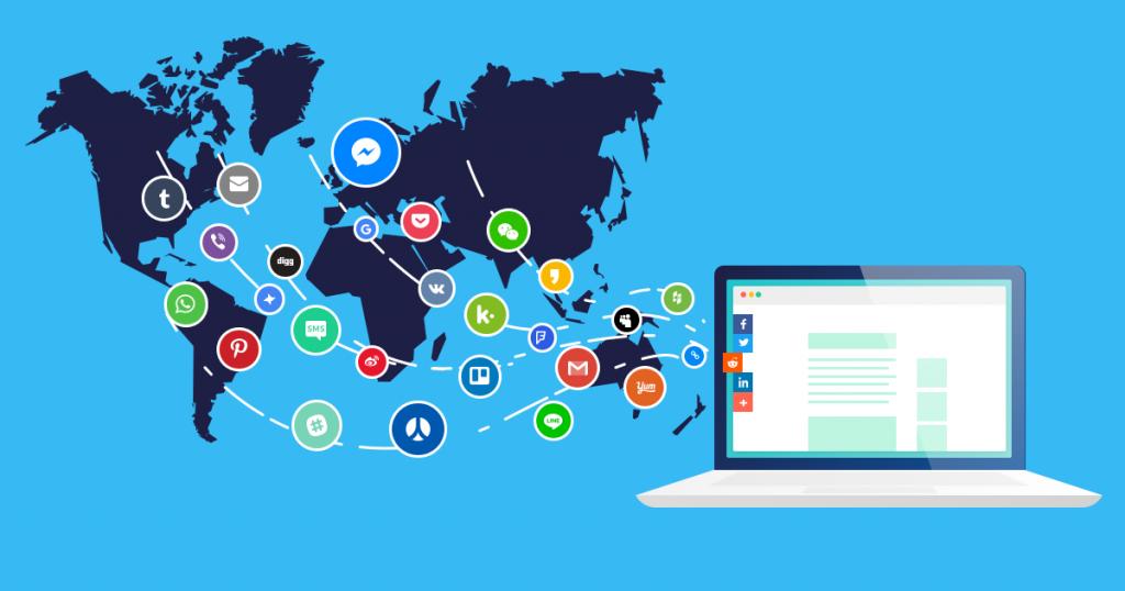 La popularité sur les réseaux sociaux