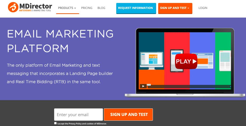 E-mail Marketing de Mdirector