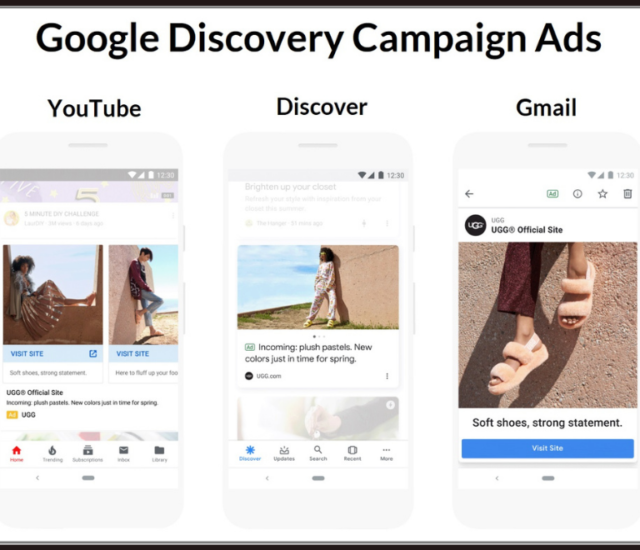 annonces Google Discovery