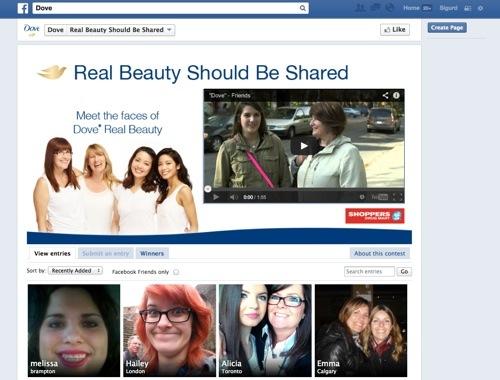 concorsi successo su Facebook dove