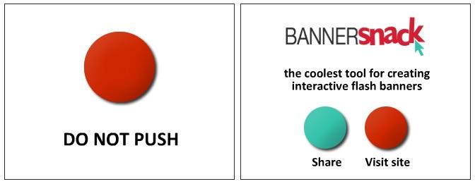 esempi di banners creativi SnackTools