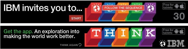 esempi di banners creativi ibm