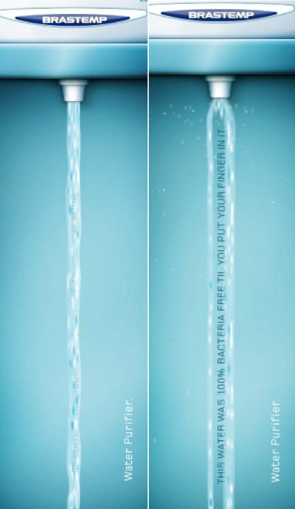 esempi di banners creativi brastemp