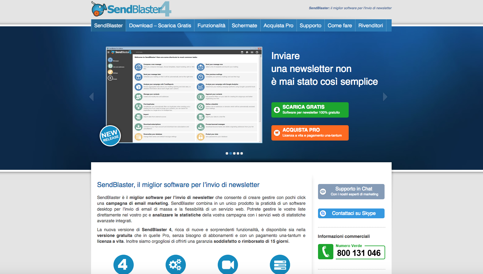 software di marketing e-mail sendblaster