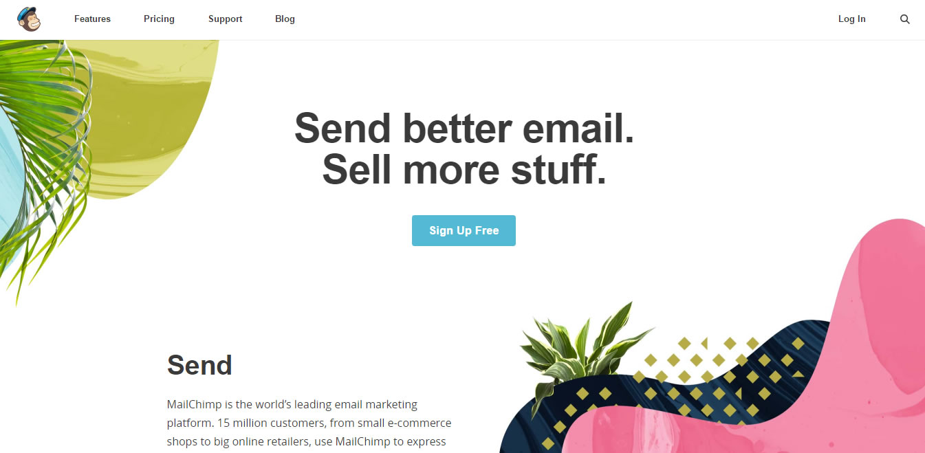 software di marketing e-mail mailchimp