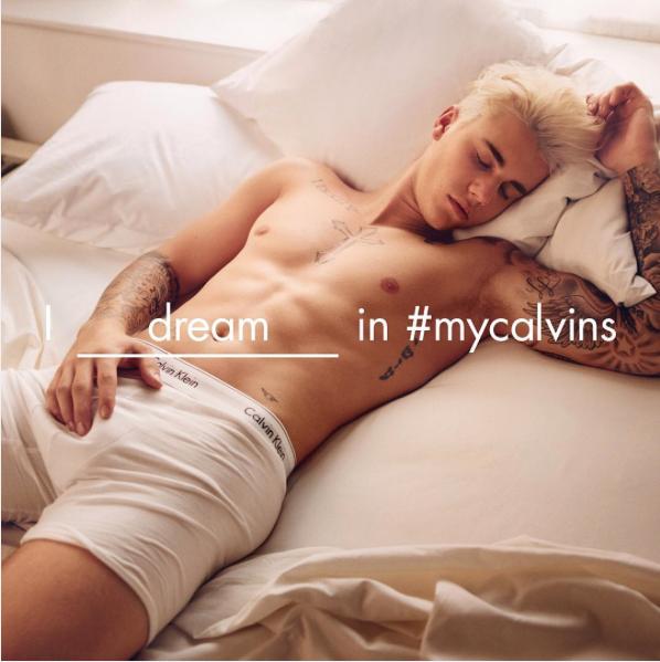 campagne con influencers della moda: Calvin Klein