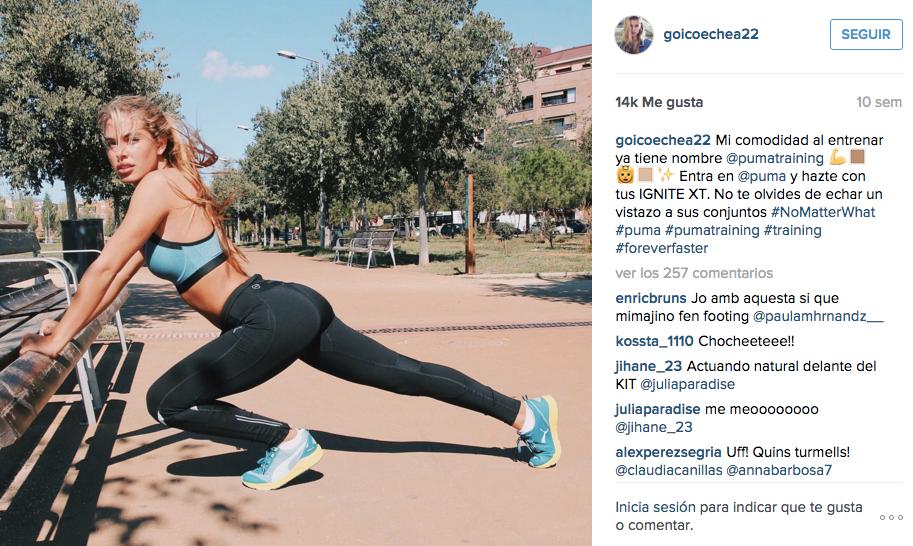 campagne con influencers della moda: Puma