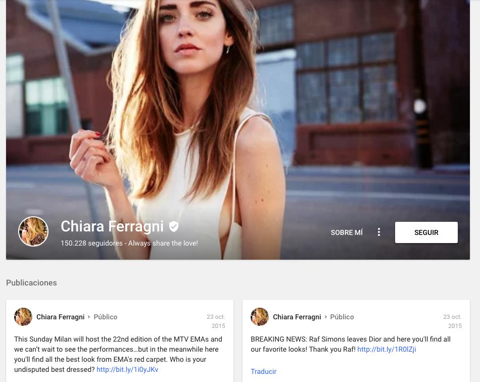 verificare i tuoi account social