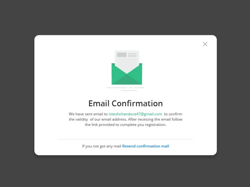 emails di conferma