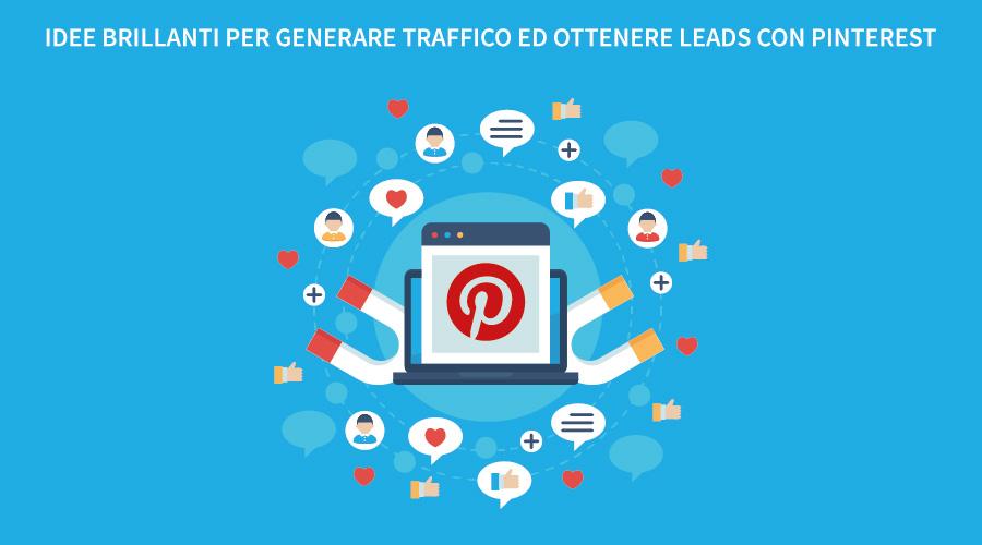 ottenere leads con Pinterest
