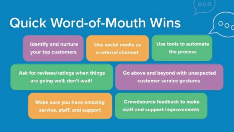 vantaggi di marketing wom