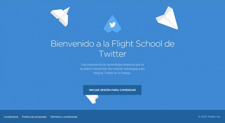 benvenuti twitter flight school