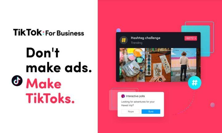 Tik tok for business