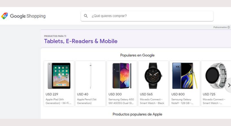 immagini per google smart shopping