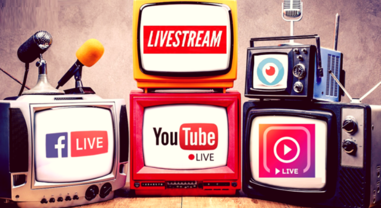 Live streaming sui social network