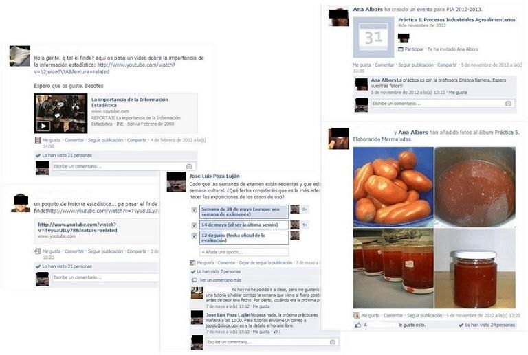 uso dei gruppi sui social network