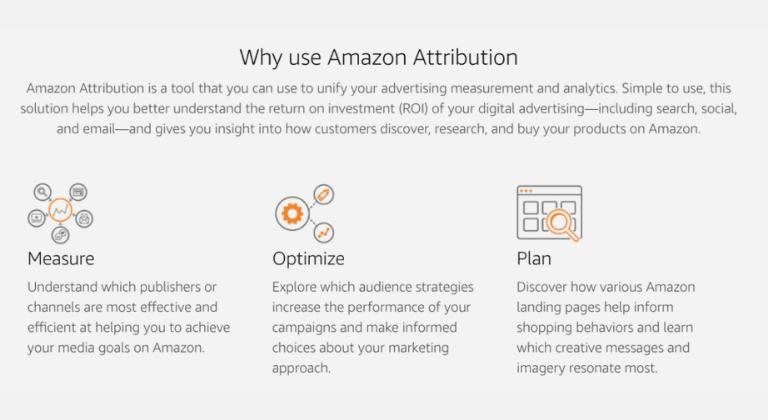 Cosa ti consente di fare Amazon Attribution?