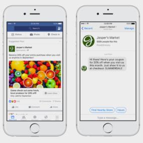 campagne di Facebook Messenger
