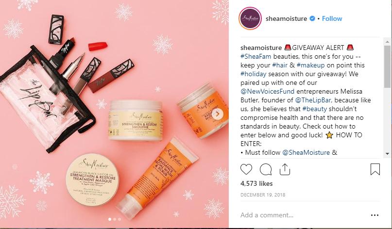 Organizza un concorso su Instagram