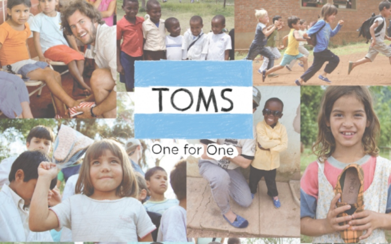 TOMS - One to One Campaign