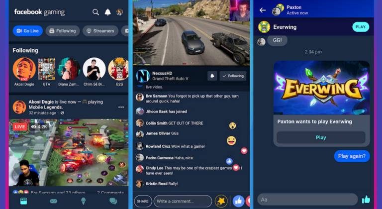 fare pubblicità su Facebook Gaming