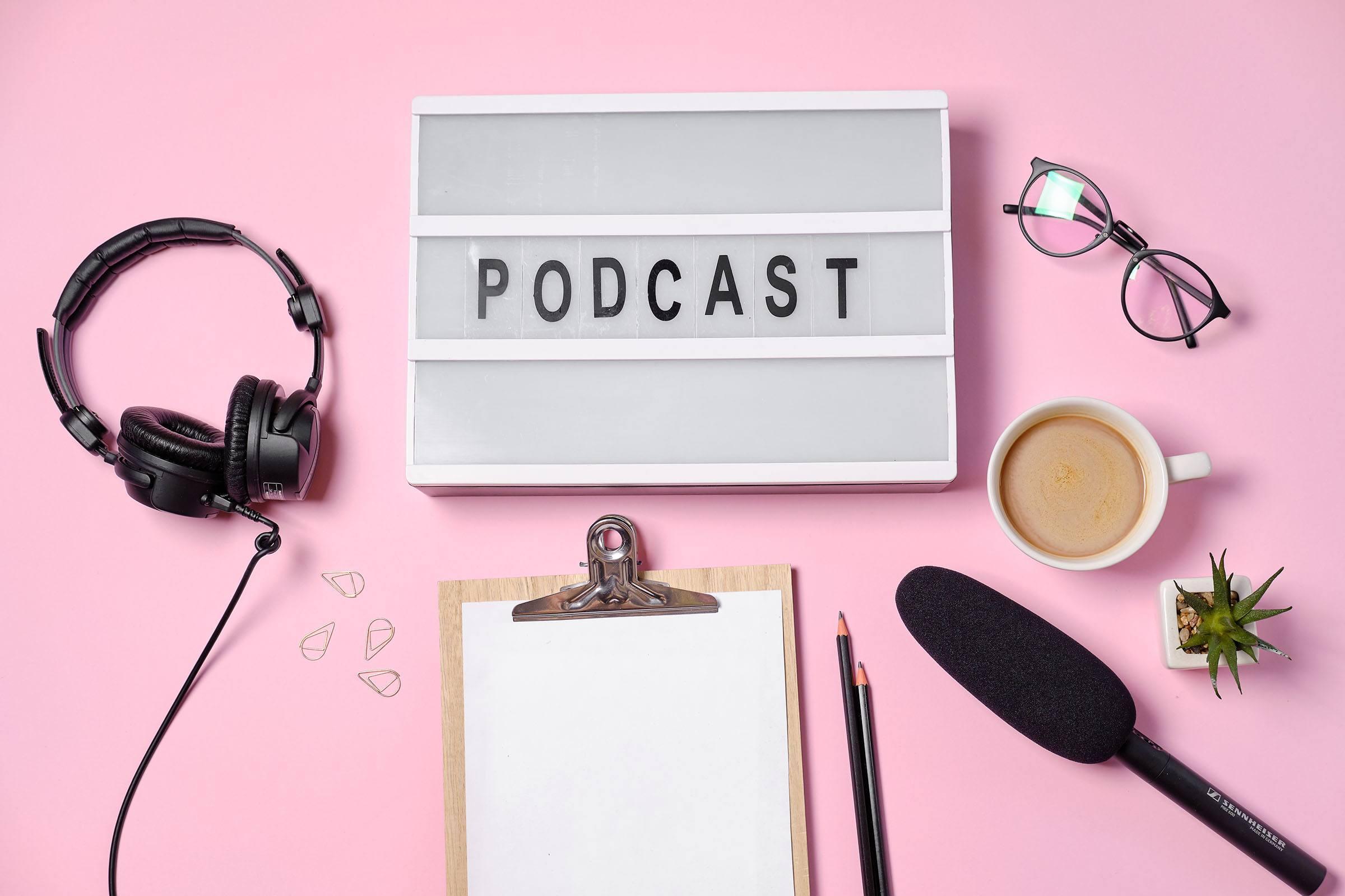 Seleziona gli argomenti per il tuo podcast