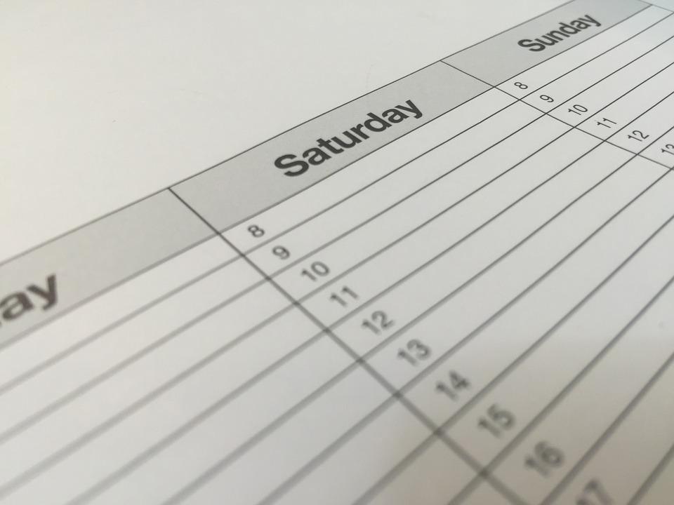 Crea un calendario e organizza i tuoi contenuti