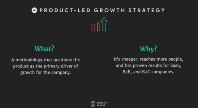 strategia di crescita guidata prodotto