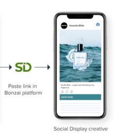 social display in una strategia media