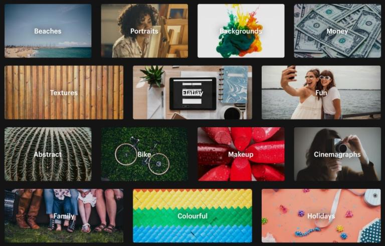 banche immagini gratuite per la creazione di contenuti