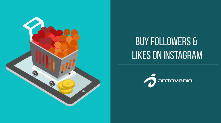 Buy followers and likes for Instagram