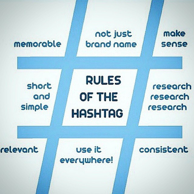 Hashtags strategies