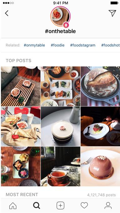 Instagram location & hashtag stories - Antevenio
