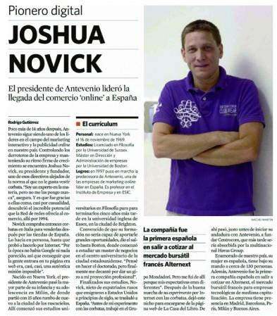 El Economista - Joshua Novick