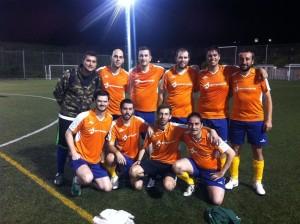 Equipo Antevenio 2012 Futbol