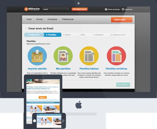 MDirector, plataforma de email marketing profesional