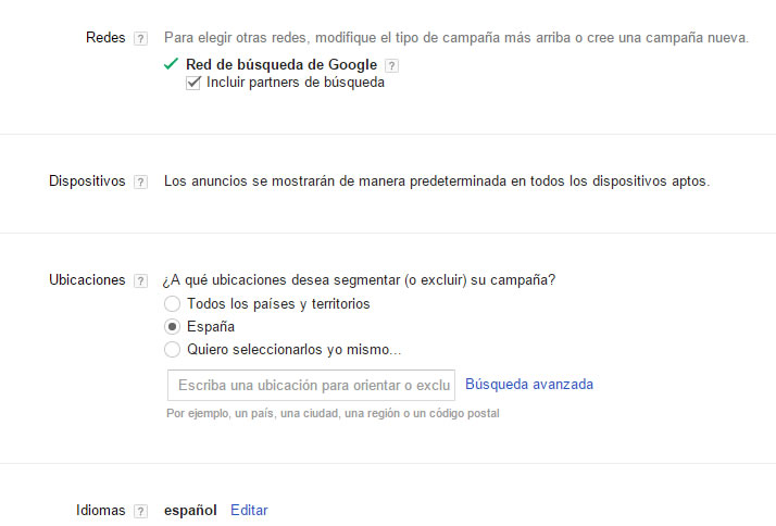Cómo crear una campaña de Google Adwords