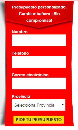 formulario Securibath