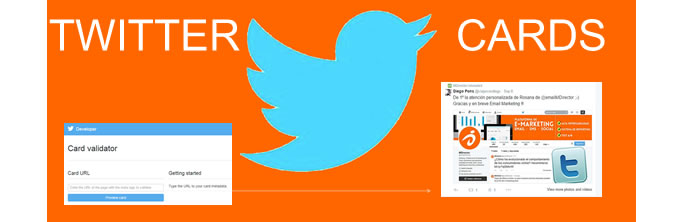 email marketing y Twitter cards