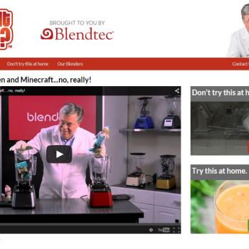 ejemplo de marketing viral: Blend it