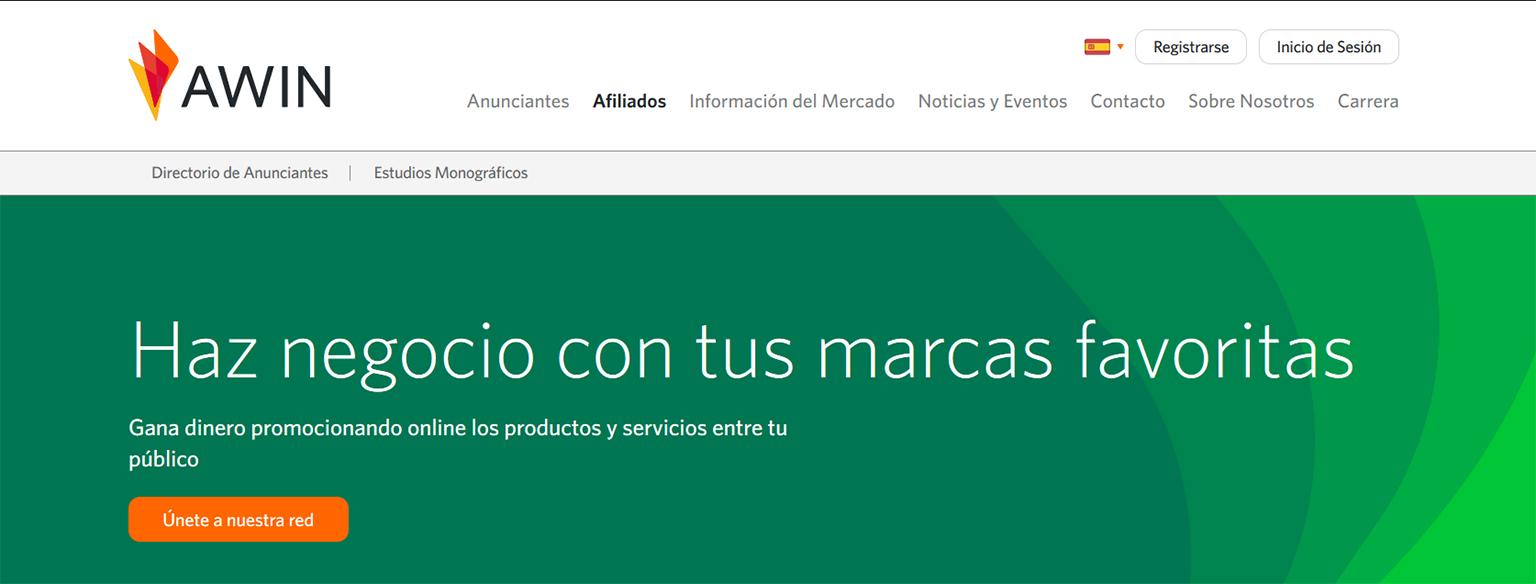redes de marketing de afiliación: Awin