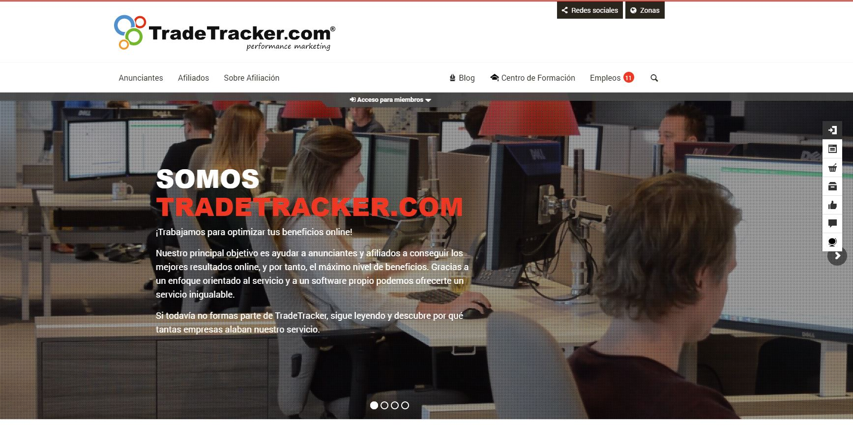 redes de marketing de afiliación:: Trade Tracker