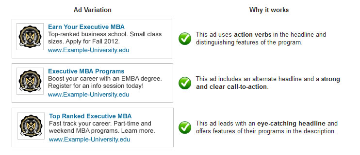 test A/B de anuncios de LinkedIn