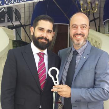 Rubén Orta y David Olivares