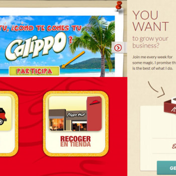 CTAs en landing pages