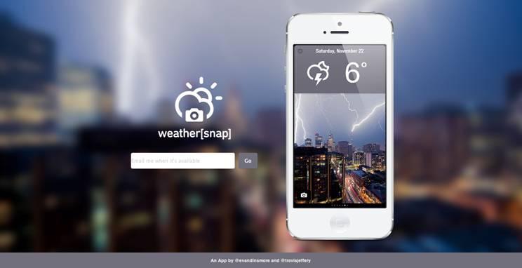 WeatherSnap